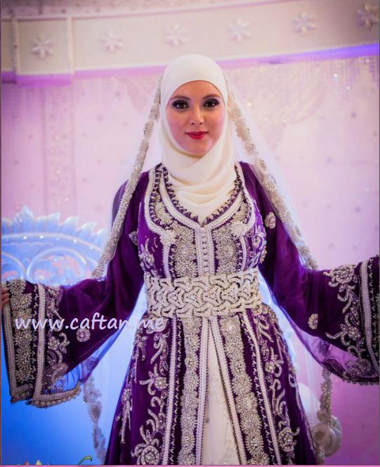 Caftan Marocain Hijab Style Vente Robes 2015 Caftan