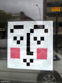 pixelface window