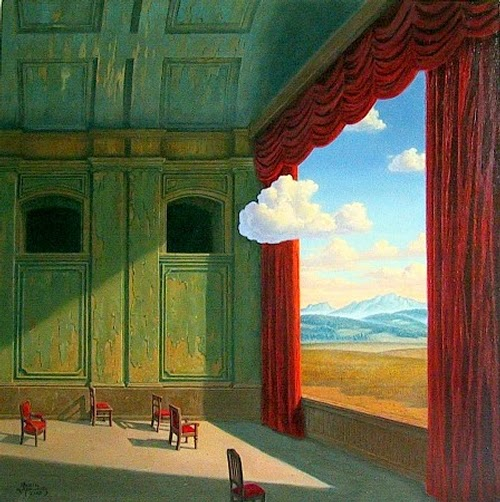 07-Theatre-World-Marcin-Kołpanowicz-Paintings-of-Creative-Surreal-Worlds-ready-to-Explore-www-designstack-co