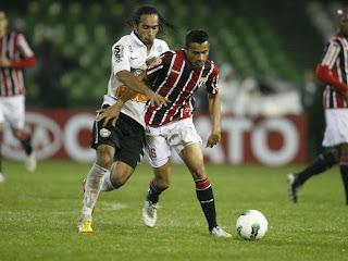 Coritiba 2 x 0 São Paulo
