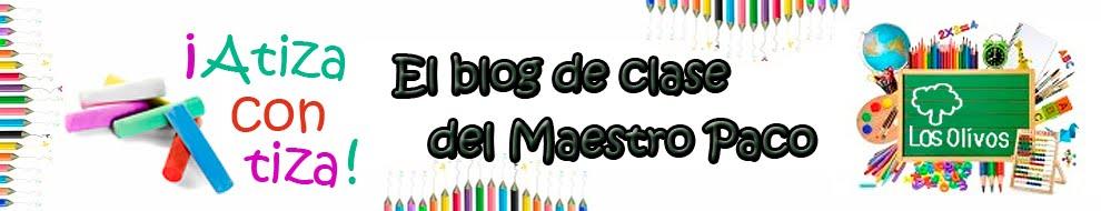 Blog de clase del Maestro Paco