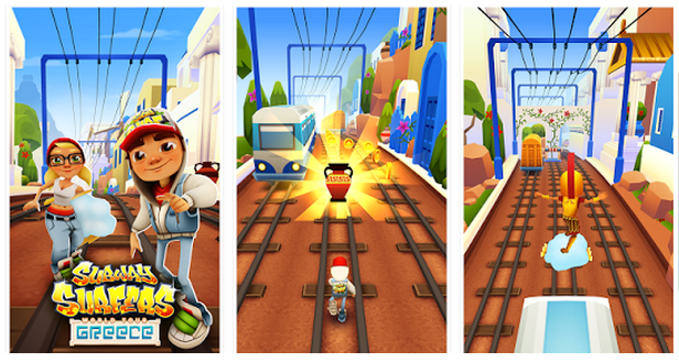 Subway Surfer v1.43 Greece Modded Apk