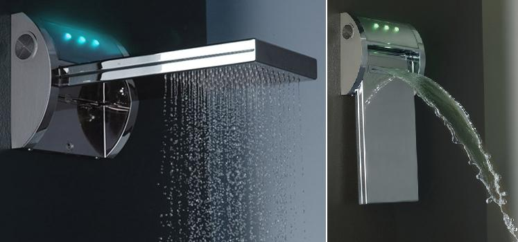 Cool Shower Heads 15 creative showers and unusual shower head designs.