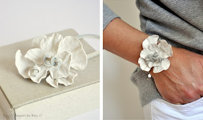 make a leather flower
