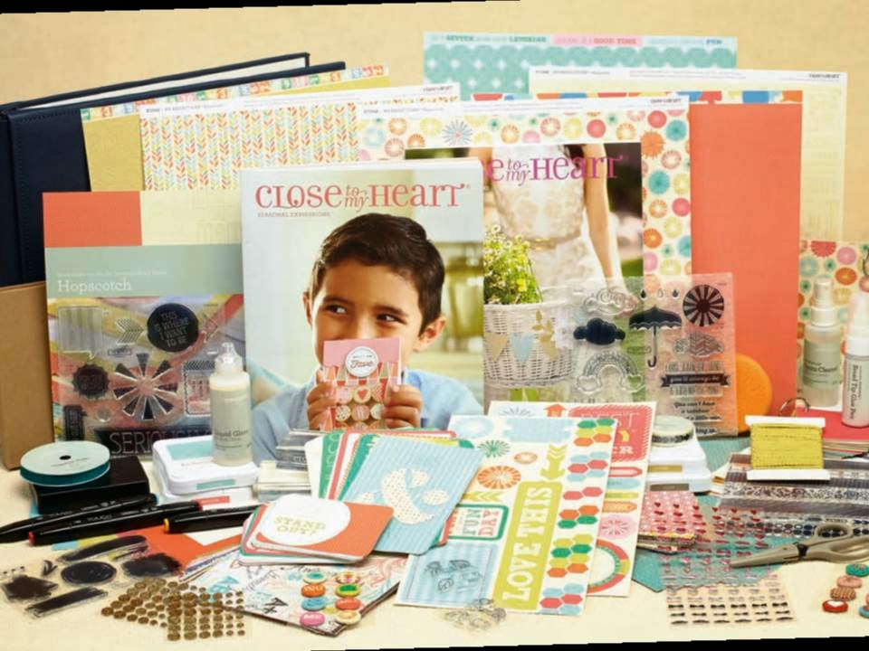 LIMITED RELEASE CLOSE TO MY HEART SCRAPBOOKING KIT ONLY $130  rrp $470