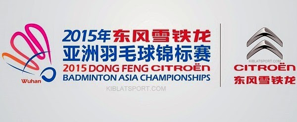 Hasil Badminton Asia Championships, 25 April 2015