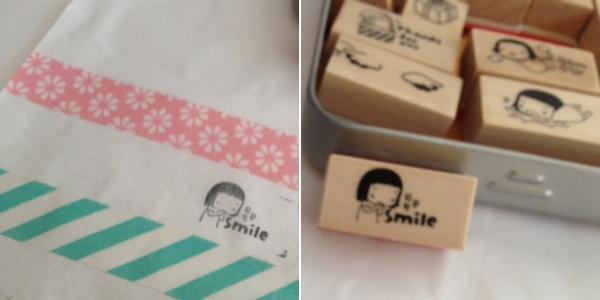 como podis ver el washi tape es genial para decorar una simple bolsita blanca de regalo la hace que sea ms personal y que quien va a abrir el regalo