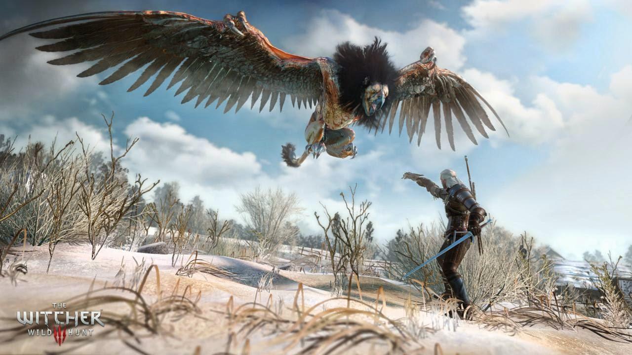 إصدار لعبة Witcher 3
