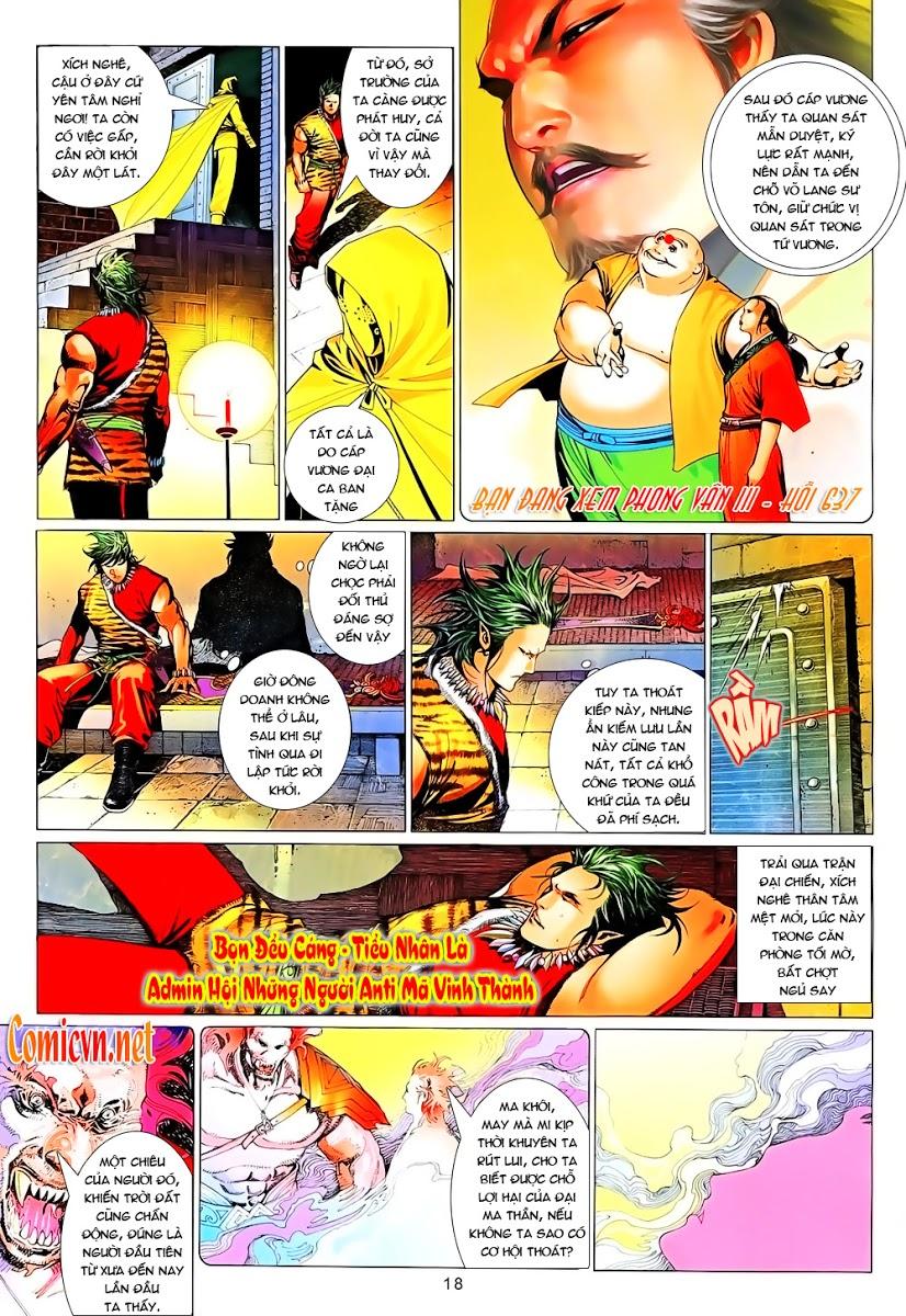 Phong Vân chap 637 Trang 18 - Mangak.info
