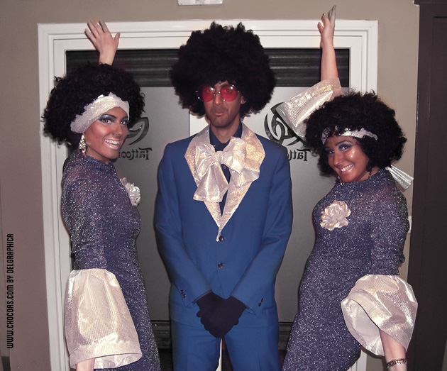 Carnaval - disfraz dreamgirls