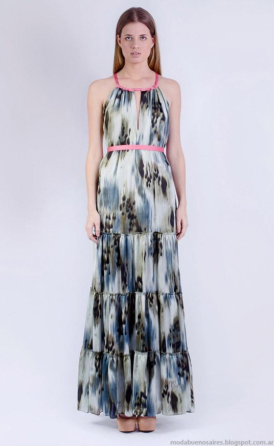 Vestidos de verano 2015. Vestidos de moda 2015 Natalia Antolin colección,