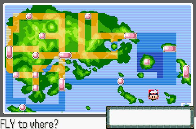 Todo el mapa abierto