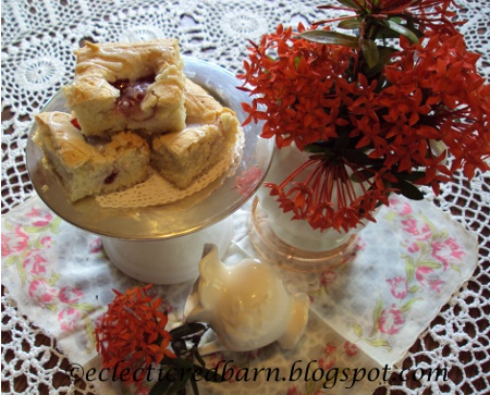 Eclectic Red Barn: Easy Cherry Squares