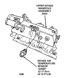 iat sensor performance chip installation procedure 1988 2000 ford 1998 Ford Ranger Wiring Diagram 1988 2000 ford ranger iat sensor maf sensor location pinout wiring diagram