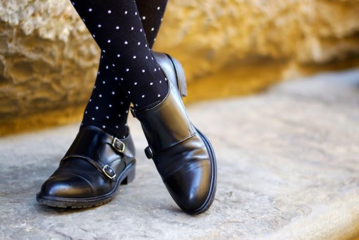 scarpe maschili doppia fibbia
