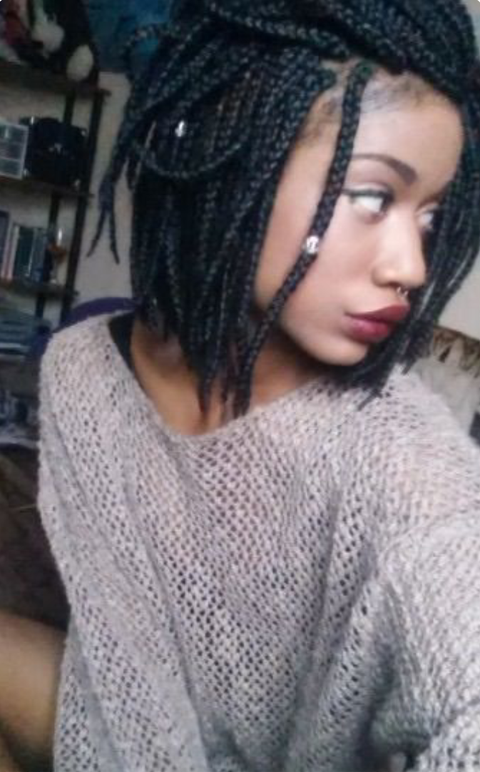 ... kinky twists and the short-lived crochet weave Naija girl next door
