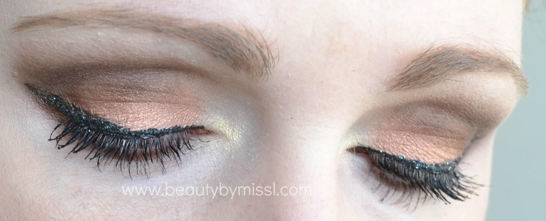 nivea eye shadows mua glitter liner