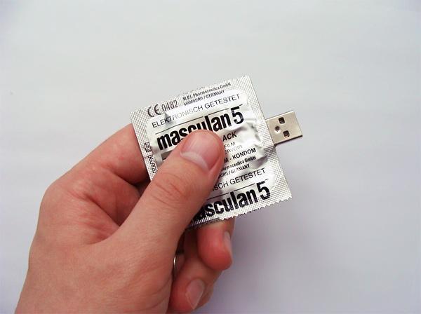 usb condón