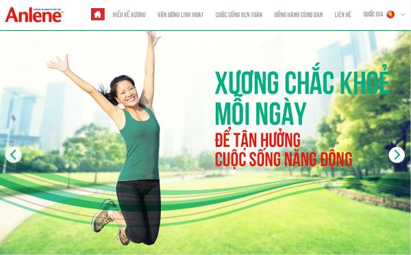 Anlene Vietnam : anlenevn.com