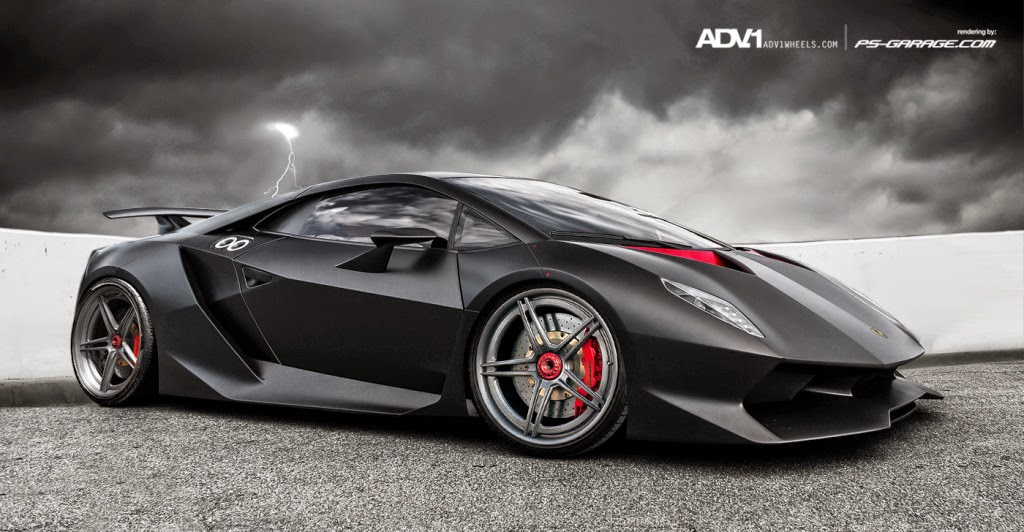 Gambar Mobil  Lamborghini Sesto Elemento