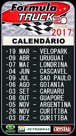 F-TRUCK - Calendário