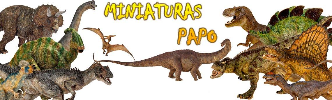 DINOSSAUROS PAPO