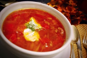 Russian Recipes food, Russian Borscht