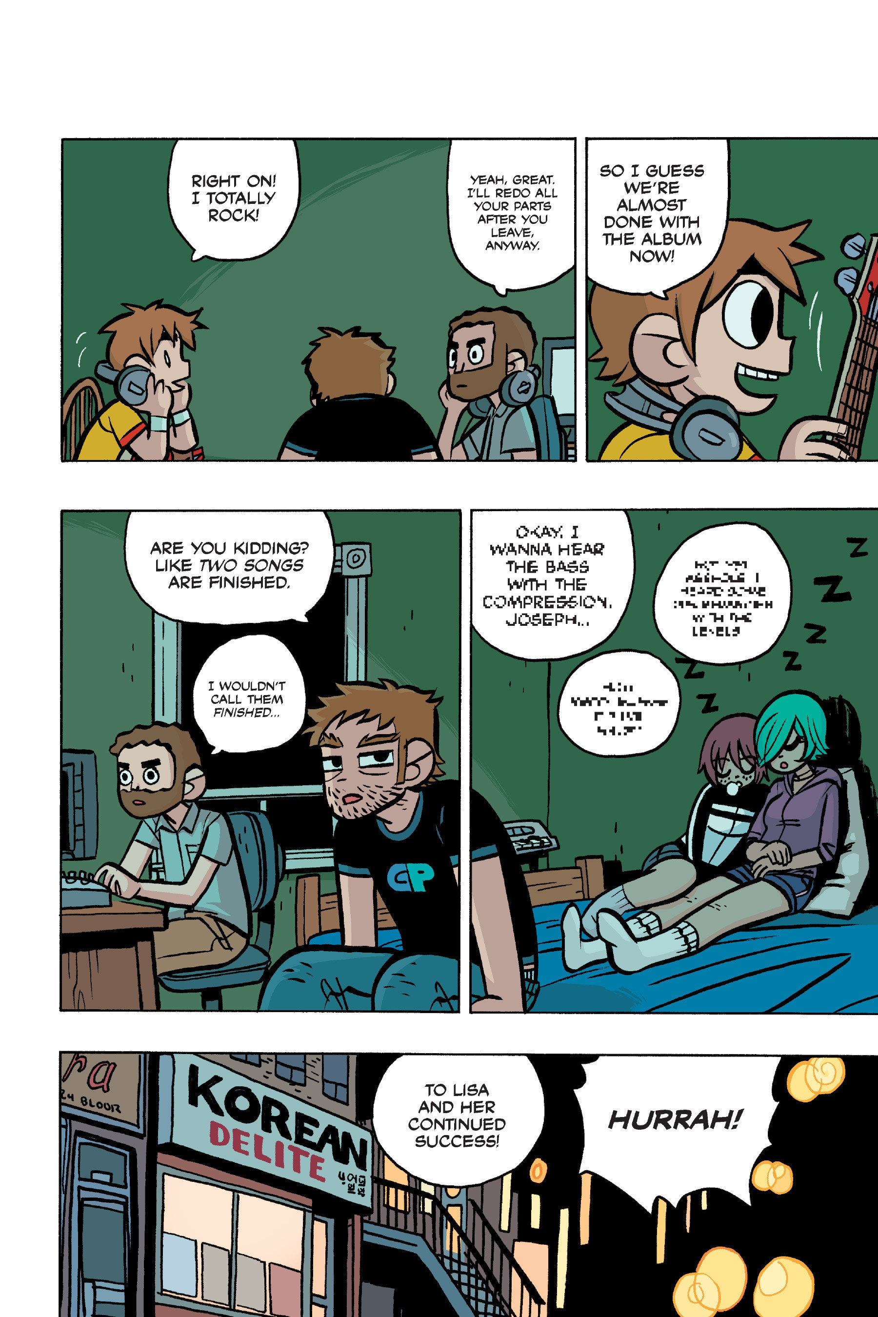 Read online Scott Pilgrim comic -  Issue #4 - 199
