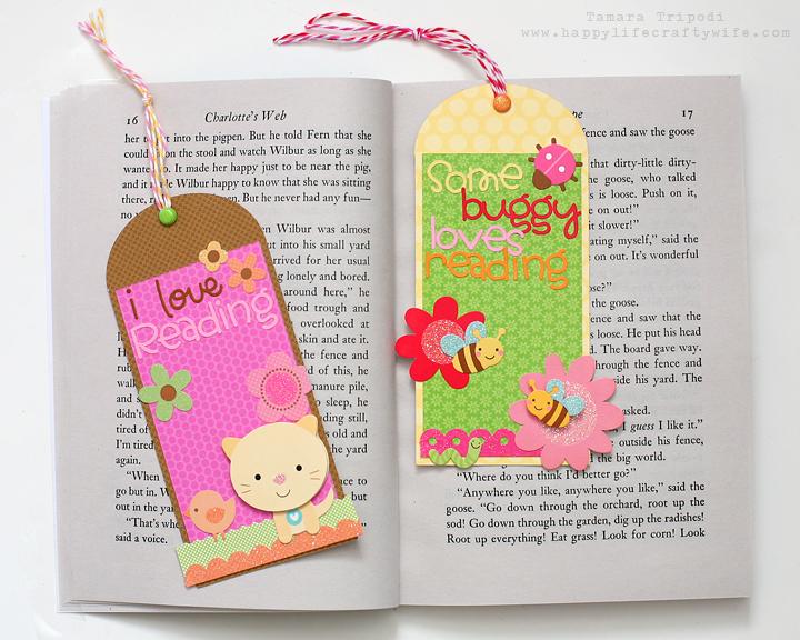 Doodlebug design inc blog quick simple treat bag for Simple bookmarks