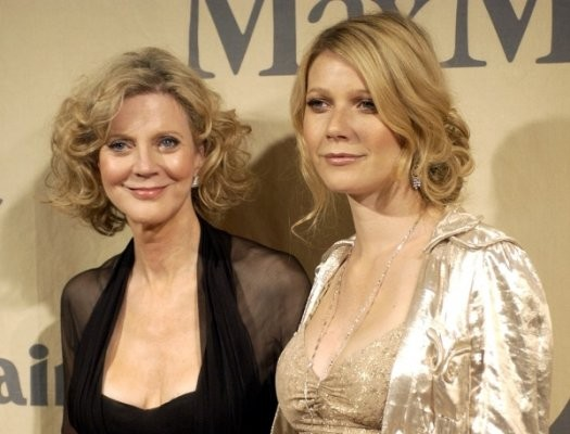 Blythe Danner, and daughter, Gwyneth Paltrow