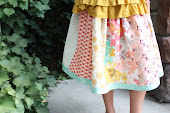 Easy Fat Quarter Skirt