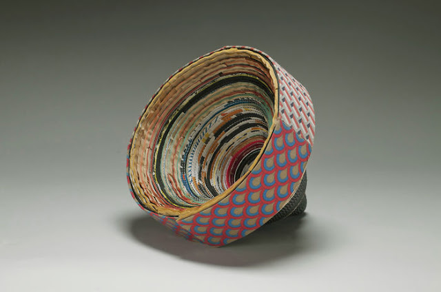 Book sculpture by Jacqueline Rush Lee
