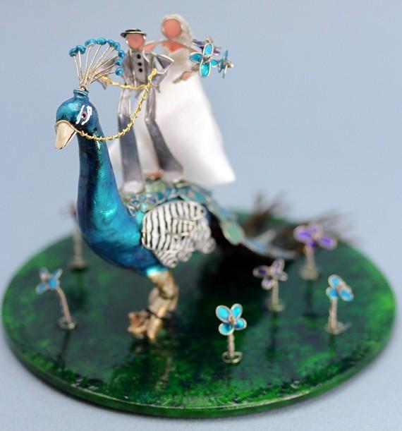 strange wedding cake toppers