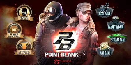 Cara Isi Voucher Garena di Game Point Blank