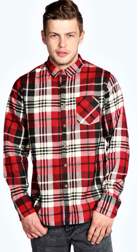Check Flannel Shirt £15.00