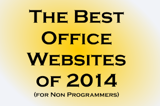 The Best Office Websites of 2014 (For Non Programmers)