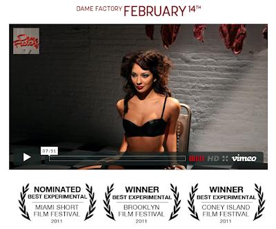 Dame Factory, Film Eksperimental terbaik 2011