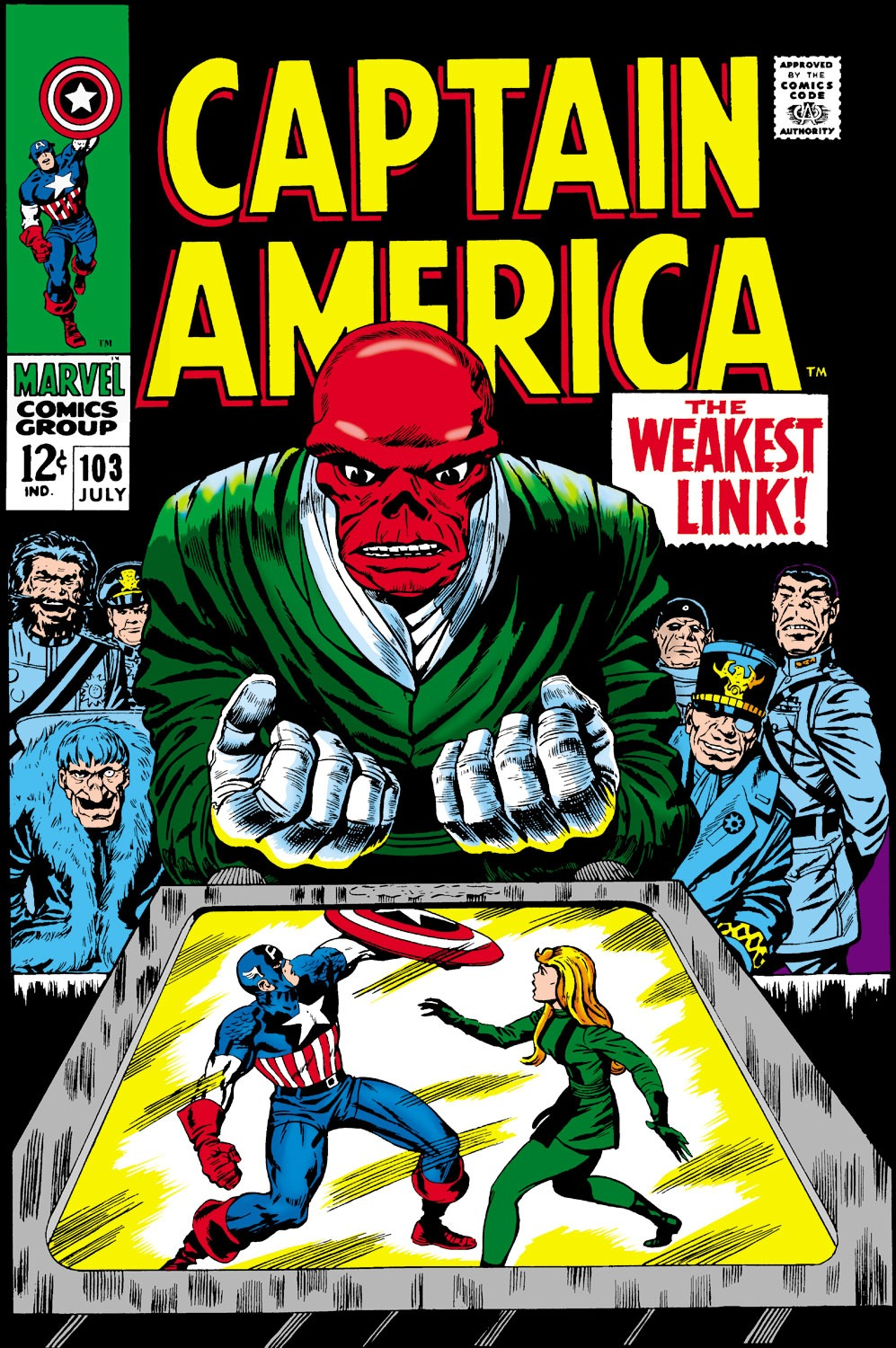 Captain America (1968) Issue #103 #17 - English 1