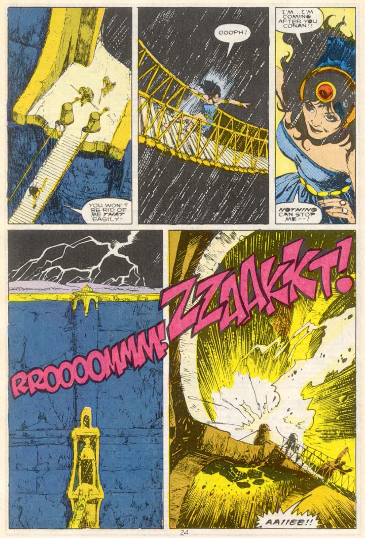 Conan the Barbarian (1970) Issue #210 #222 - English 19