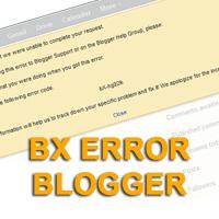 Error BX Blogger