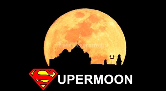 GALERI: Memukaunya Supermoon 10-11 Agustus 2014!