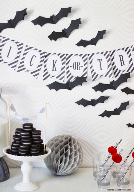 freebies printable recursos gratis halloween imprimibles guirnalda