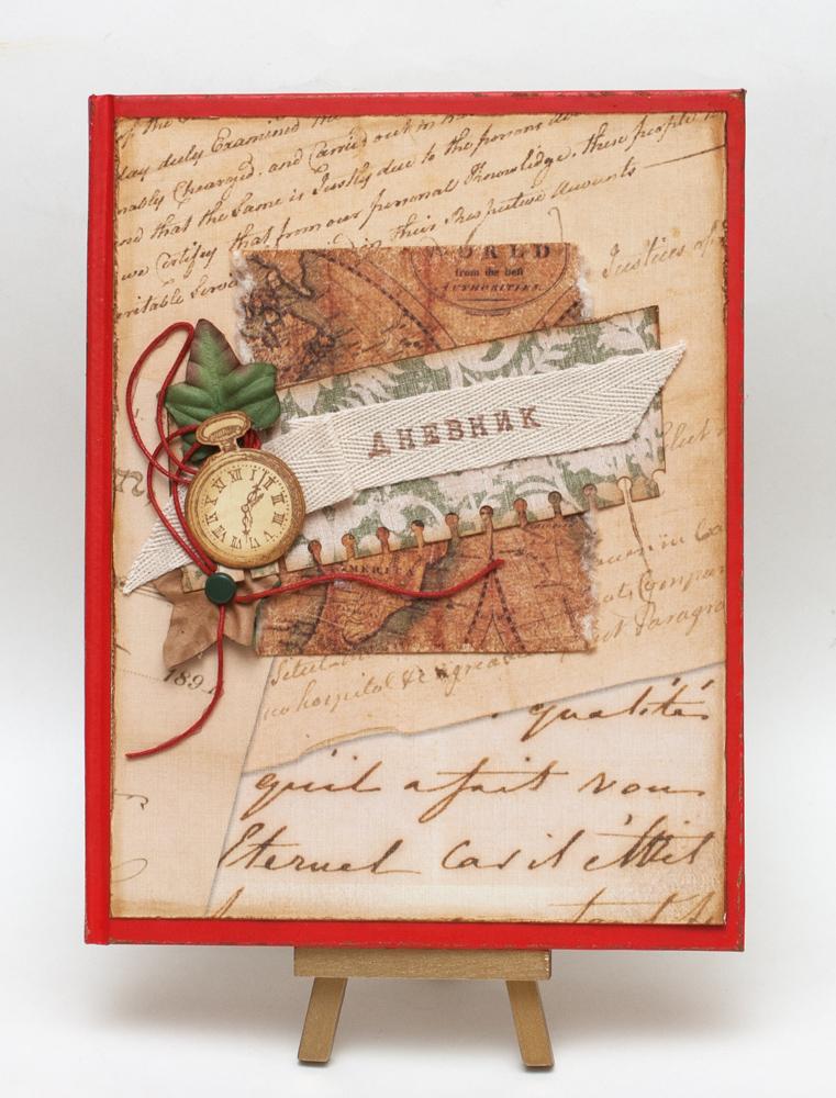 Обложка для школьного дневника скрапбукинг