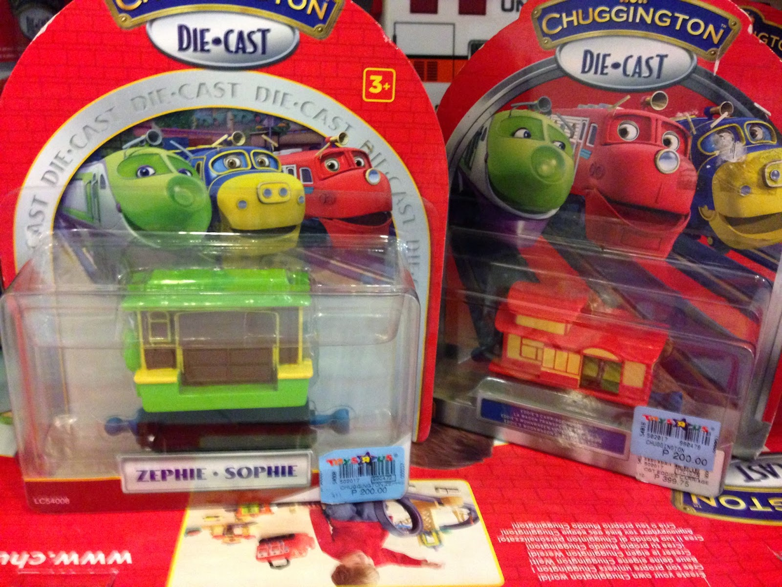 Chuggington Die-Cast Trains