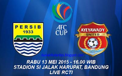 Persib vs Ayeyawady United