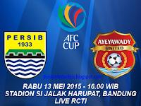Persib vs Ayeyawady United AFC Cup 2015