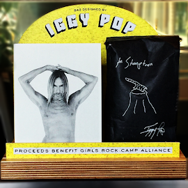 Iggy Pop limited edition coffee for Stumptown.