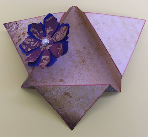 "Inside of Triangle Card (this project will be repeated on ""Super Saturday"" March 17 @10:00 AM"