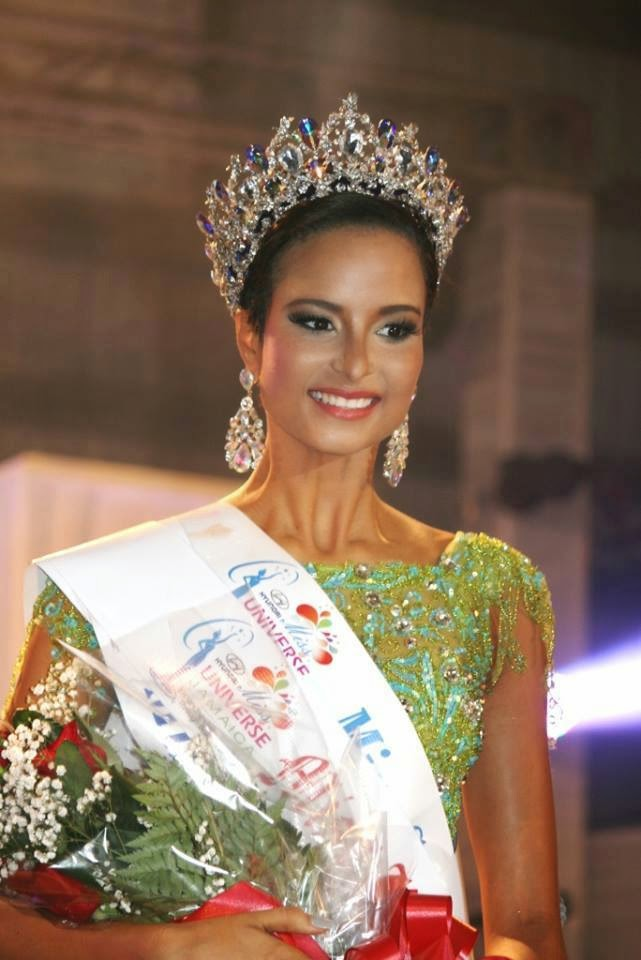Miss Universe Jamaica 2014 winner Kaci Fennell