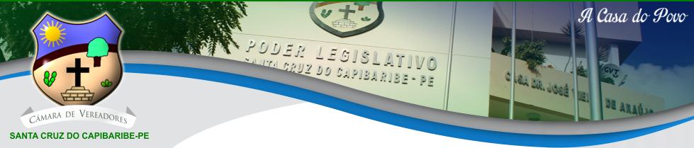 CÂMARA DE VEREADORES DE S.C.C - PE